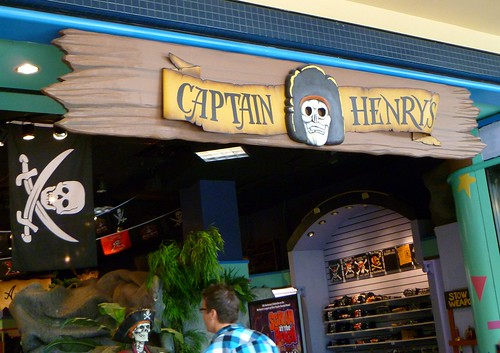 Captain Henry's Pirate Shop, Lloyd Center, Portland OR