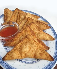 eatingclub vancouver: Smoked Salmon Rangoon
