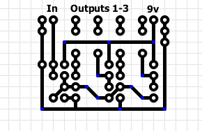 Sw  Cooler Wiring further Zm Mfc1 furthermore Wiring Diagram For A Homer Simpson additionally Electrical Wiring also 1st Order 3 Way Crossover Circuit Design Using Free Online Tool. on easy 3 way switch diagram