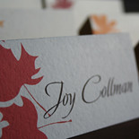 Harvest Place Cards