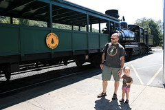 Ready for first train ride (blossomdawes) Tags: cassscenicrailway