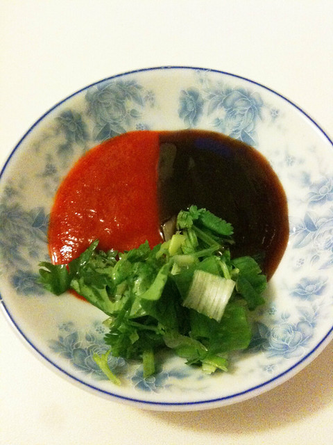 Chinobe Kitchen - Garbage soup- I took a little break. A ...
