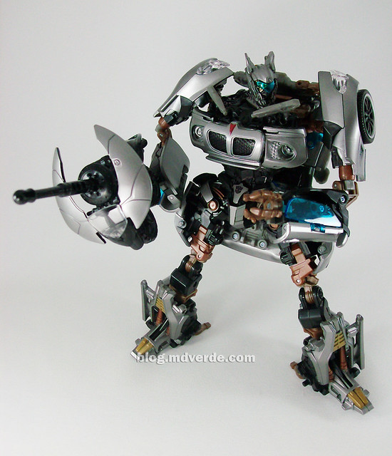 Transformers Jazz Human Alliance - modo robot