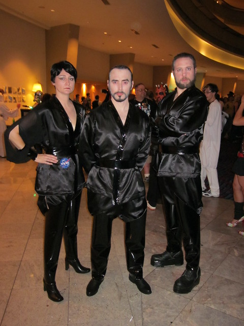 Zod, Ursa, and Non from Superman II at DragonCon 2010