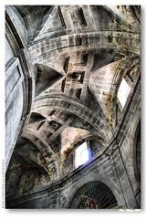 Deambulatrio da catedral de Ourense (abbada) (vmribeiro.net) Tags: art church architecture spain arquitectura espanha arte cathedral catedral igreja ourense demabulatrio