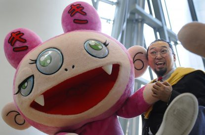10i10 Takashi Murakami Foto Reuters Vicent West