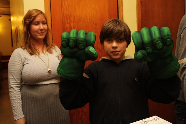 my little Hulk