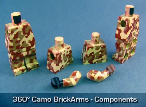 360° Camo BrickArms - Components