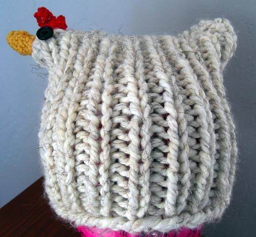 chicken hat!