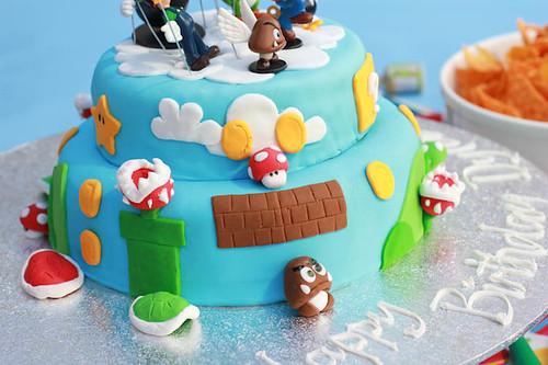 Mario Cake-6