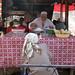 Uyghur ice cream seller