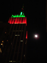 December 27: Caught Between the Moon and New York City (W. 33rd St. btwn Broadway and 6th Ave)