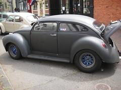 The Widened Beetle (Yoav Lerman) Tags: california cars car antique eureka lerman
