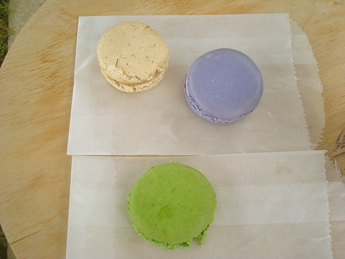 fleur de sel, lavender, pistachio @ la boîte