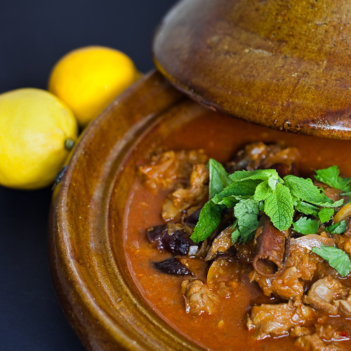 Moroccan lamb with prunes