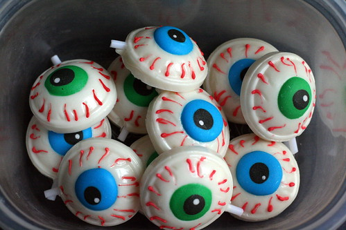 bowl of eyes