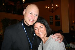 Andy Friedenberg - Director of the San Diego Cinema Society, with his wife Beth.