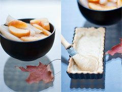 Peaches, Pears and Almond Cream