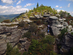 Linville Gorge - The Chimneys (Lonnie Crotts) Tags: