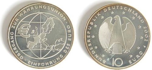 10 Euros de Alemania del 2002