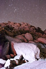the night was ours.  (rastadrian) Tags: california light sky mountain cold night stars mexico long exposure heaven stones baja rumorosa devotchka isofromhell