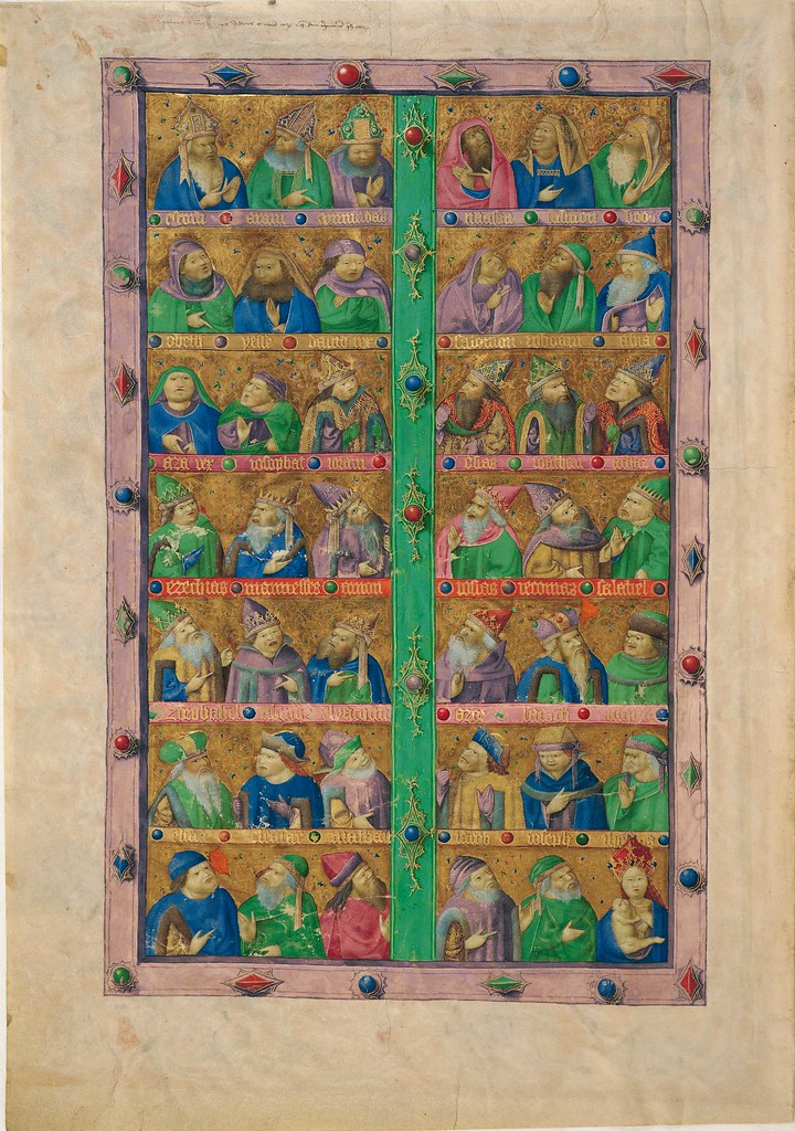 illuminated bible manuscript