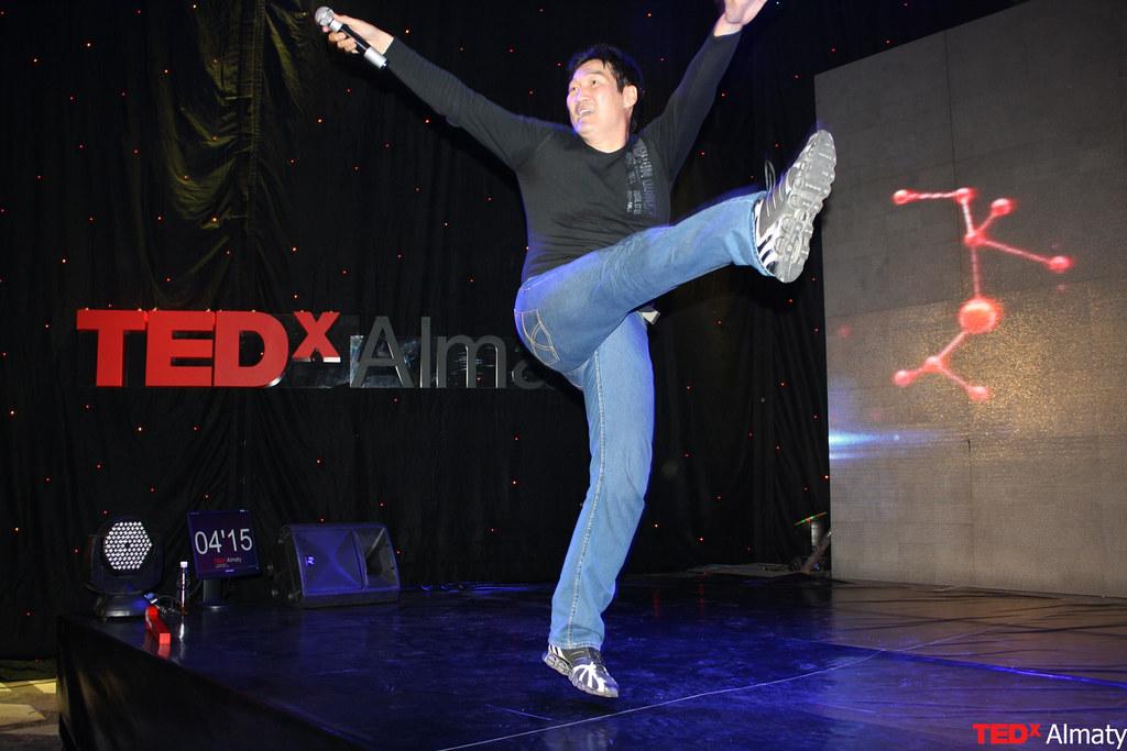 TEDxAlmaty Такежан