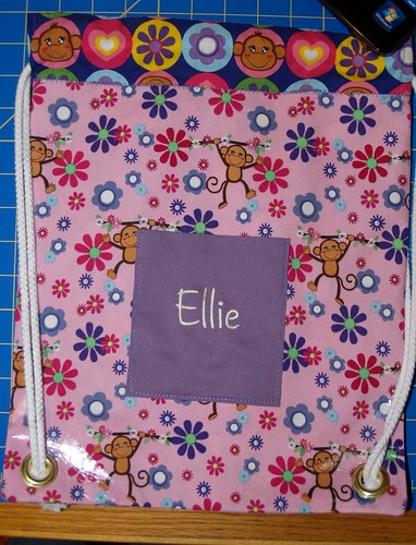 Elle's Drawstring Backpack