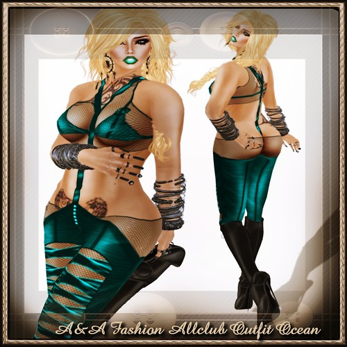 A&A Fashion Allclub Outfit Ocean