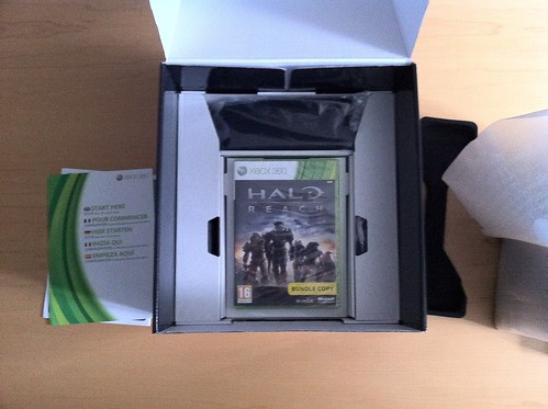 Xbox 360 Halo Reach Unboxing