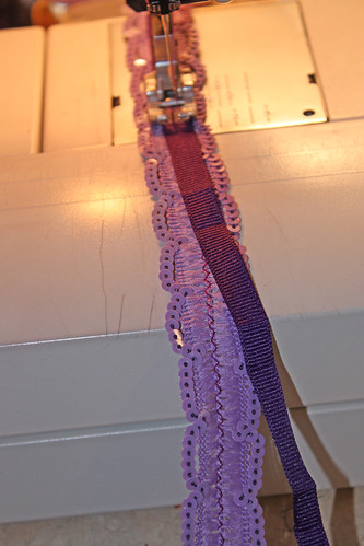 making purple trim