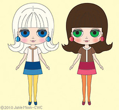 "Neo Blythe ""Simply Vanilla"" and ""Simply Chocolate"""