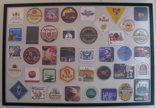 Beer coaster framing - Belgian coasters