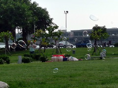 Bubbles in the park (ulysses68) Tags: taiwan bubbles tainan   bolle bolledisapone