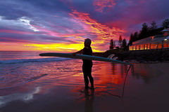 Burleigh Heads Sunrise_01_17Sep2010 (Michael Dawes) Tags: ocean beach sunrise pacific country australia surfing queensland pete towns goldcoast littlepete burleighheads surfingfriends burleighheadslocals