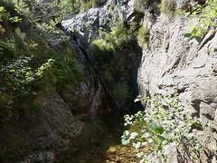 Entre la confluence Calva et le Castellucciu : la cascade à contourner en RD
