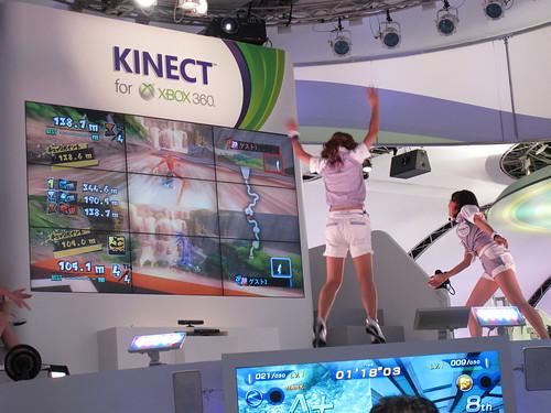 東京電玩展_Kinect(陳怡如攝)