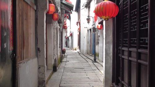 巴城古镇的小巷子
