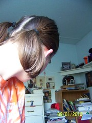 day 235 (Rachy91) Tags: kodak naturallight pigtail day235 backofmyhead 365days