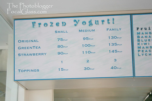 Yummy yo Menu