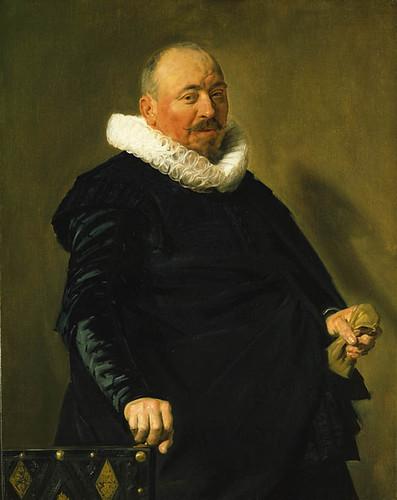 Portrait of an Elderly Man, Frans Hals, c.1627-1630