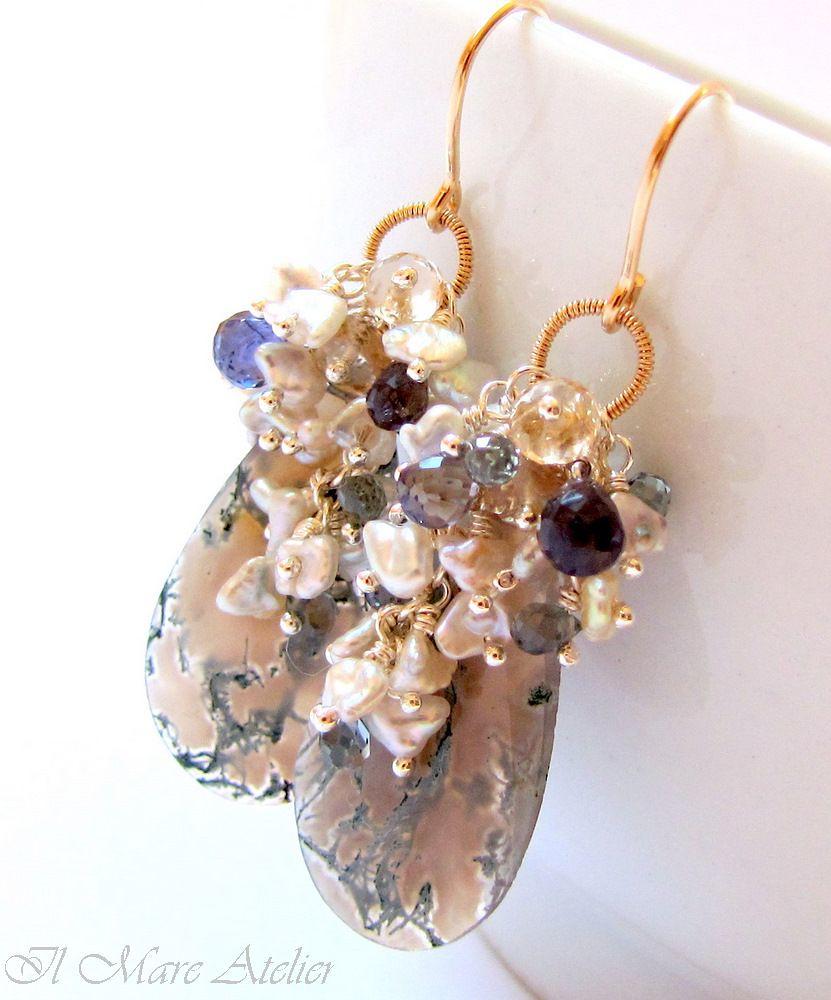 Caribbean earrings