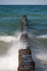 Groyne (iPhotograph) Tags: longexposure geotagged balticsea baltic groyne ahrenshoop 70200mmf2