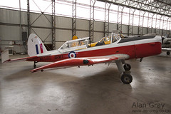 G-BXGX De Havilland Canada DHC-1 Chipmunk C1 0609 PRIVATE - 100905 Duxford - Alan Gray - IMG_1969