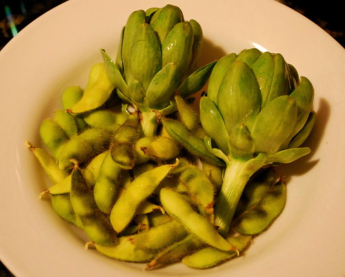 Artichokes and Soy Beans