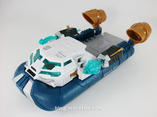 Transformers Seaspray Hunt for the Decepticons Voyager - modo alterno