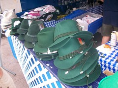 Hats at Germania Society gift tent (Coasterville) Tags: oktoberfest zinzinnati