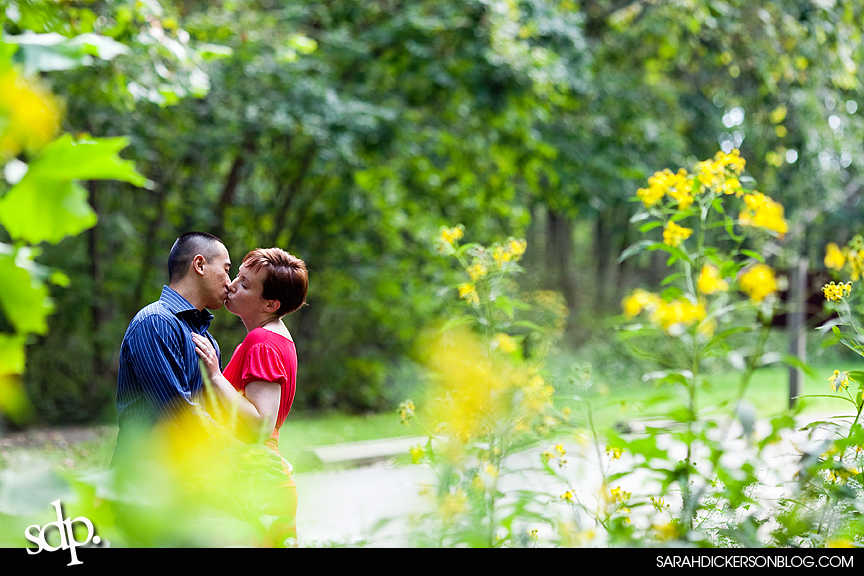 Watkins Mill State Park engagement photography