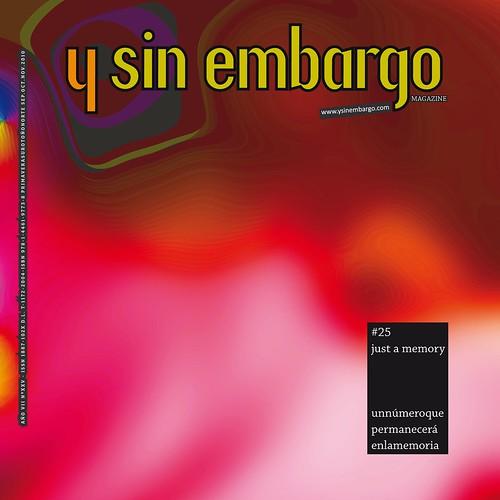 Y SIN EMBARGO magazine #25