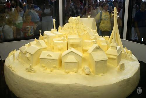 Butter Sculpture - Dairyville 2020